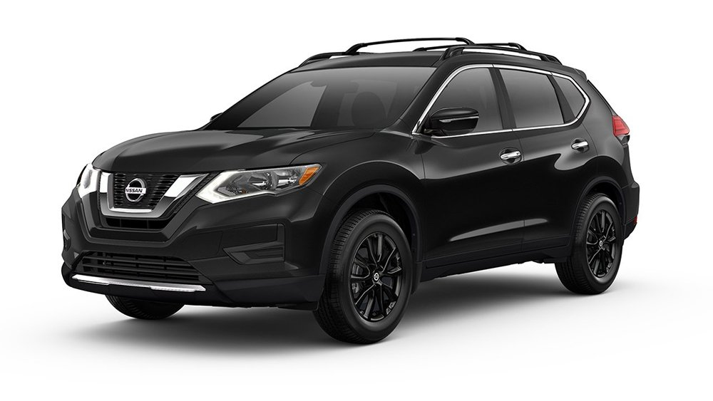 learn about the nissan rogue midnight edition with tamaroff nissan. Black Bedroom Furniture Sets. Home Design Ideas