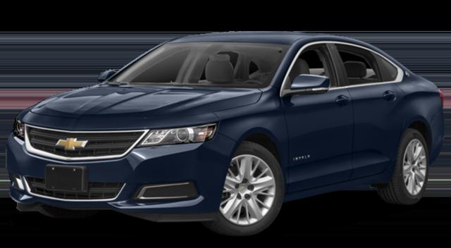 2018 Chevy Impala Blue