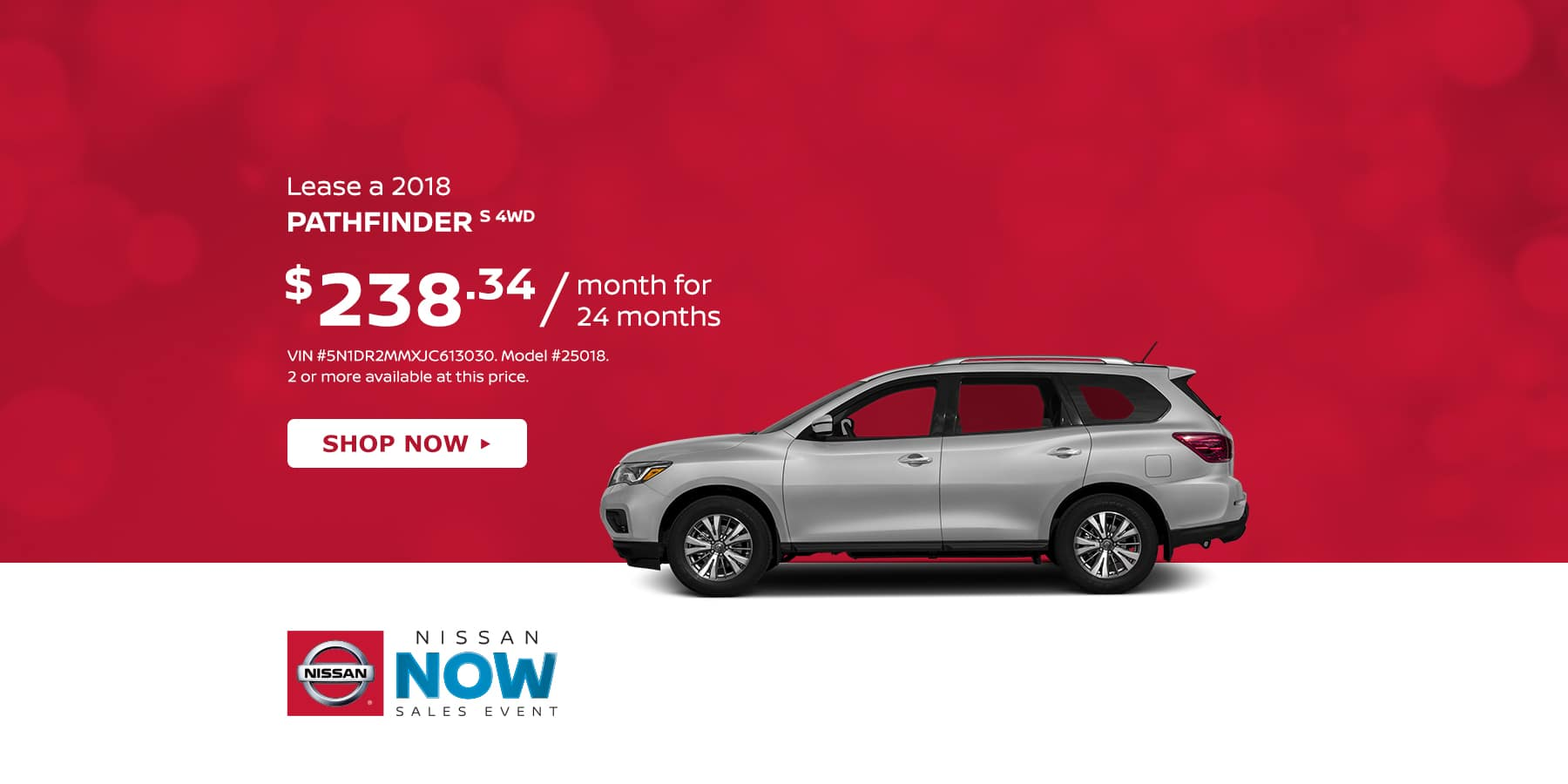 Tamaroff Nissan February Pathfinder Offer