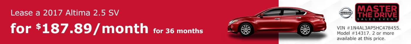 Altima December Offer Tamaroff Nissan