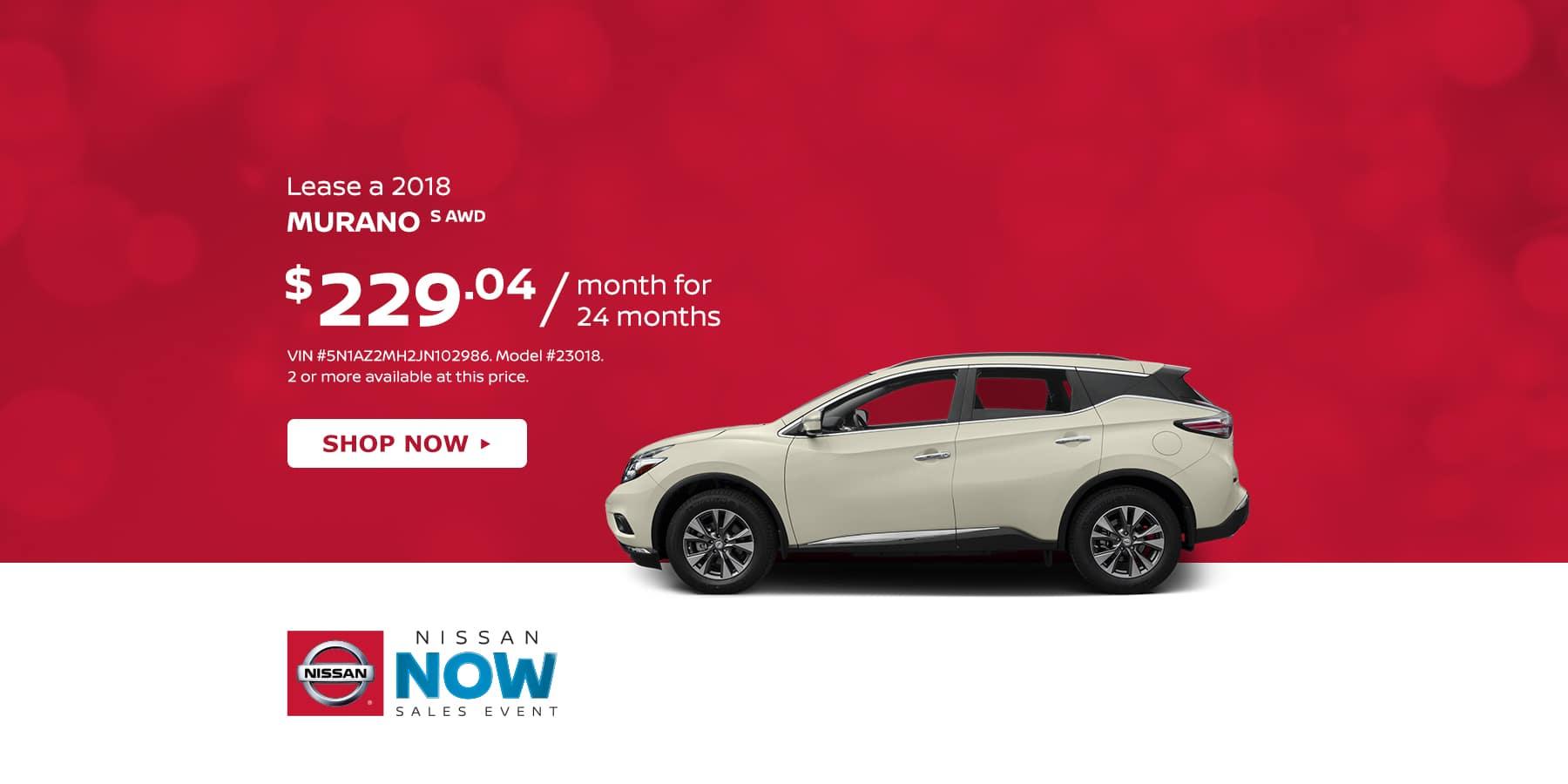 Tamaroff Nissan February Murano Offer
