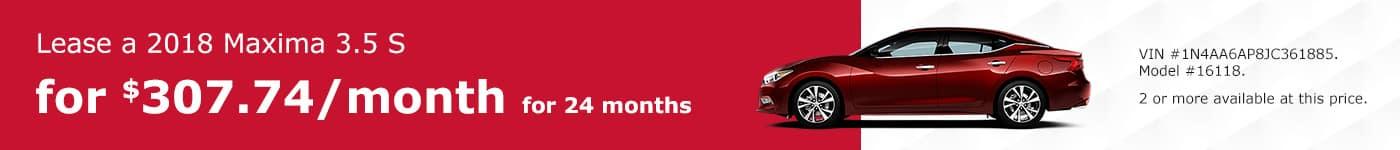 Maxima January Offer Tamaroff Nissan