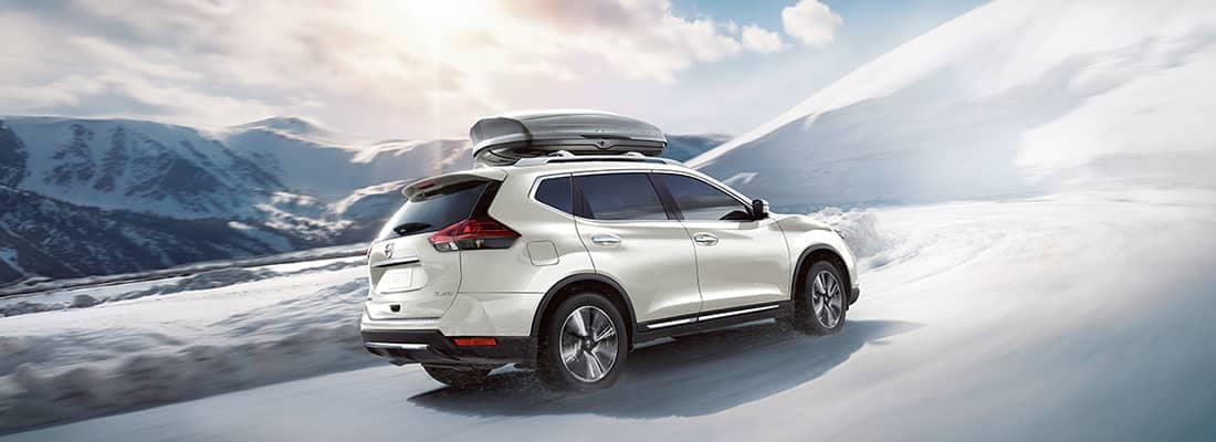 2018 Nissan Rogue Snowy