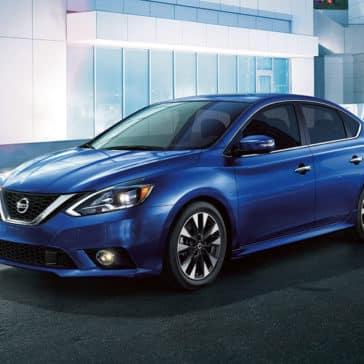 2018 Nissan Sentra Blue