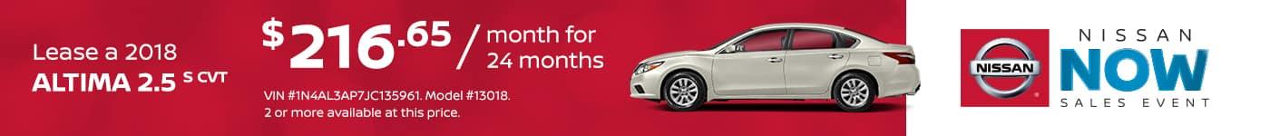 Tamaroff Nissan February Altima Offer