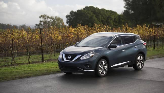 2018 Nissan Murano parked on side of road