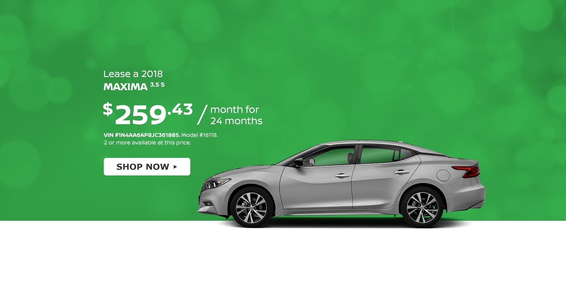 Maxima Tamaroff Nissan March Offer Homepage