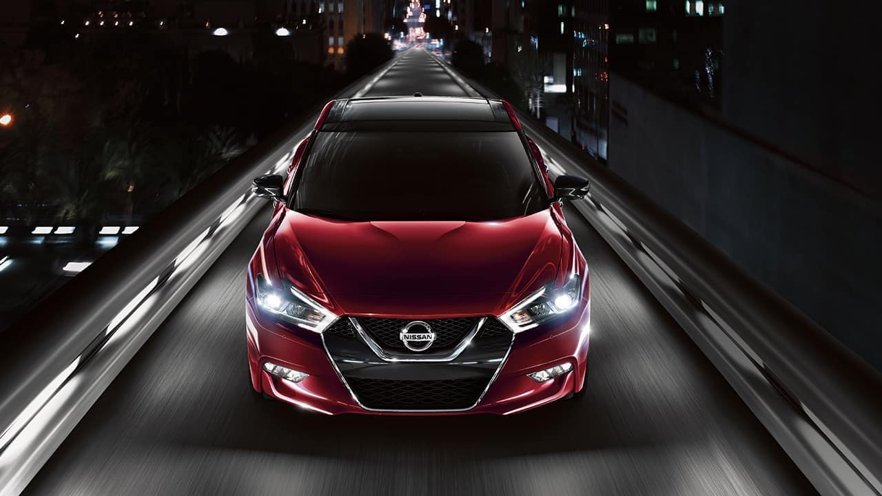 2018 Nissan Maxima Red