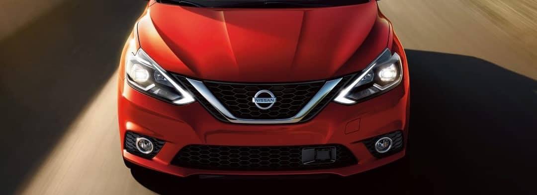 2018 Nissan Sentra Red Hood