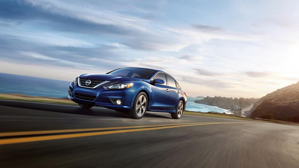 2018 Nissan Altima blue