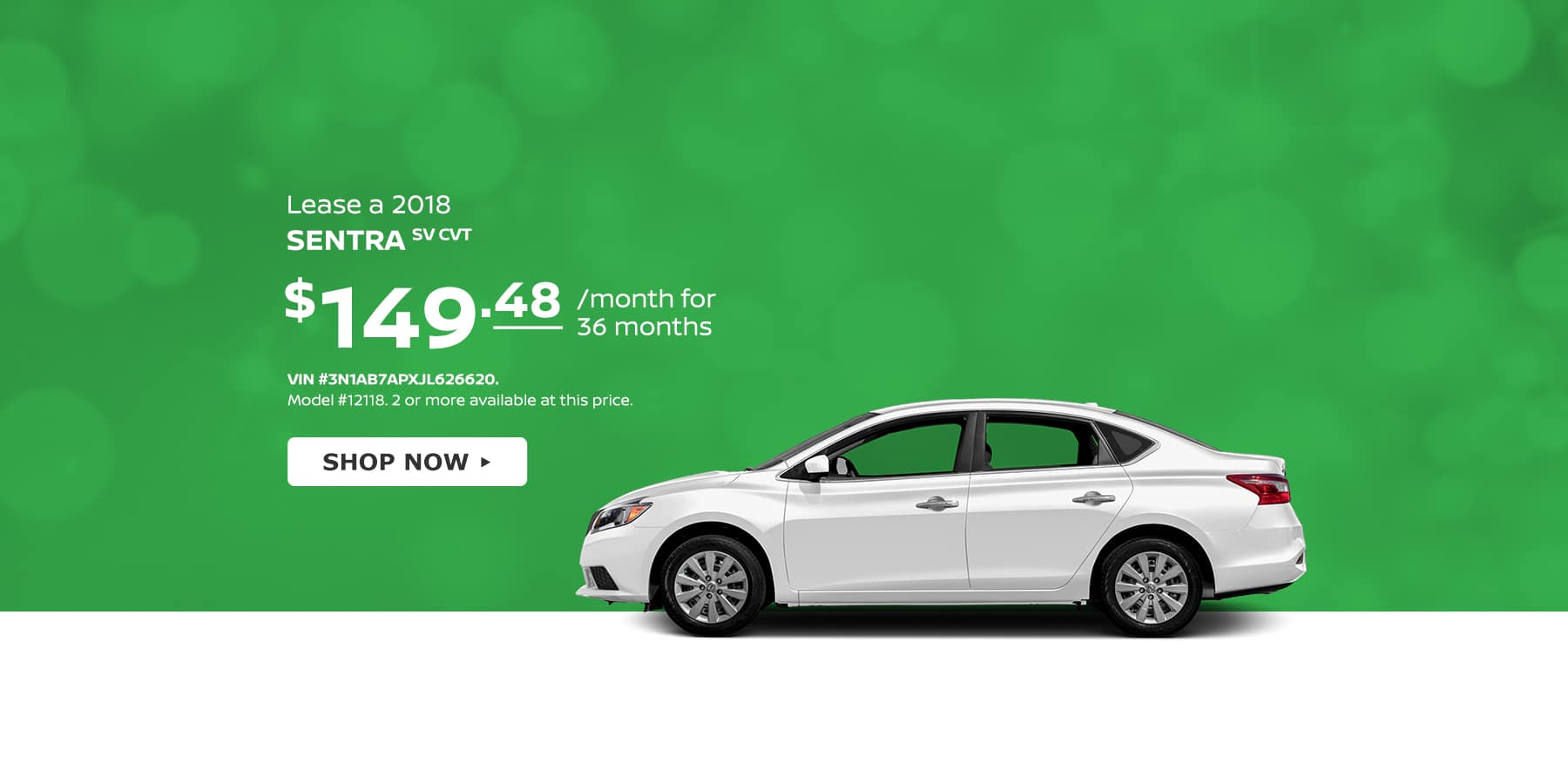 Sentra Tamaroff April Offer Homepage