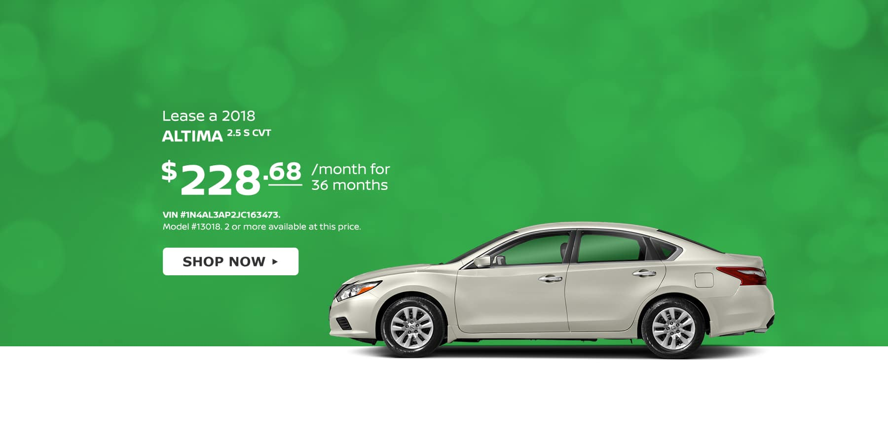 Tamaroff Nissan Altima April Offer