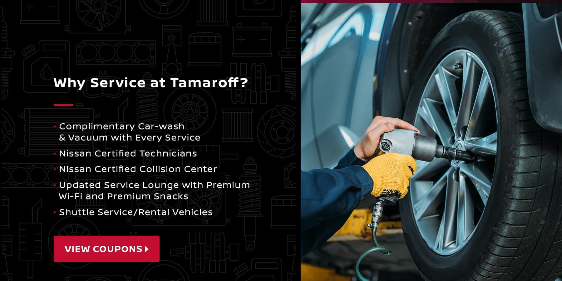 Why Service at Tamaroff