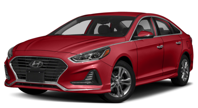 2018 Hyundai Sonata Red