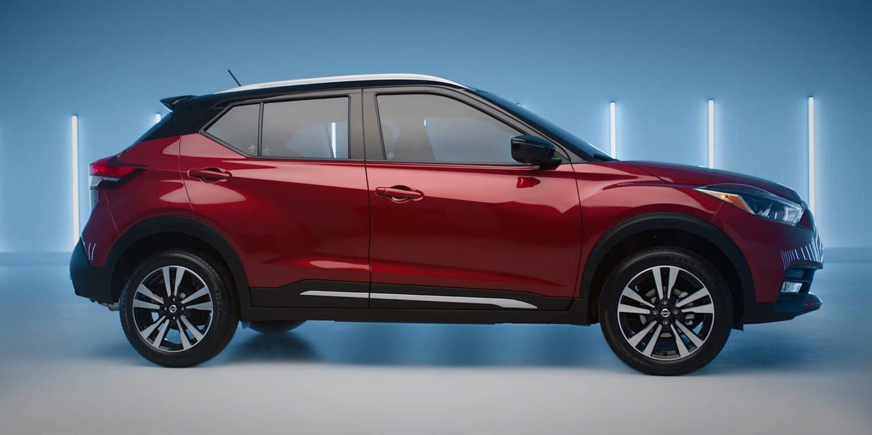 2018 Nissan Kicks Red Side View