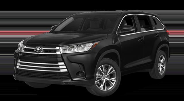 2018 Toyota Highlander Black