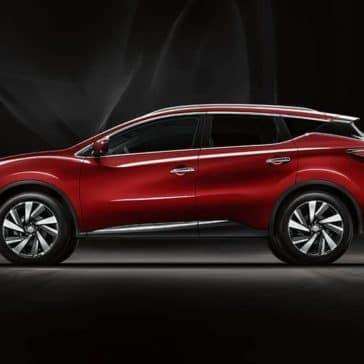 side profile of 2018 Nissan Murano