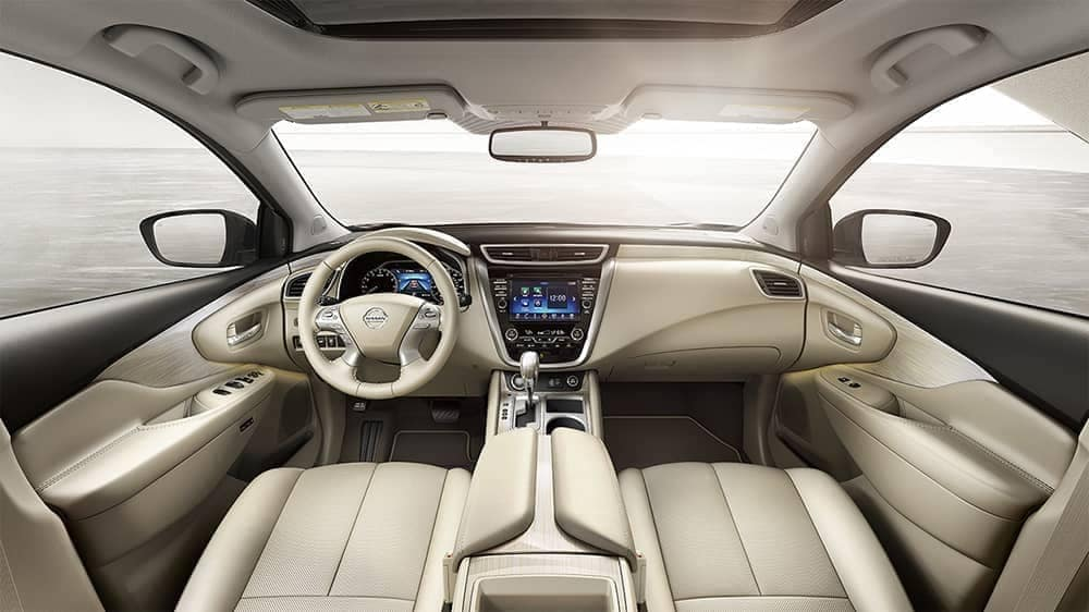 dashboard in 2018 Nissan Murano