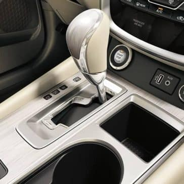 center console in 2018 Nissan Murano