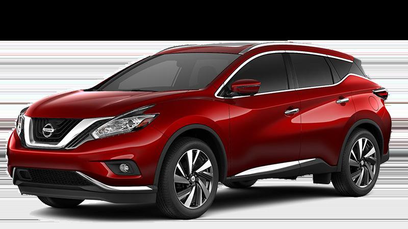 2018 Nissan Murano Red