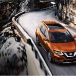 2019 Nissan Rogue on road