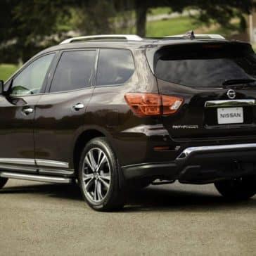 rear of 2019 Nissan Pathfinder