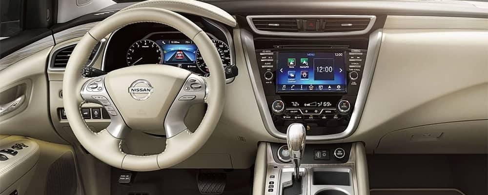 2018 Nissan Murano Interior Dashboard Features