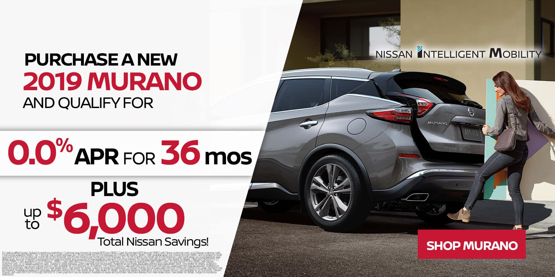0% APR Financing 2019 Murano