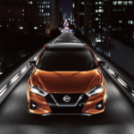 2019 Nissan Maxima at night