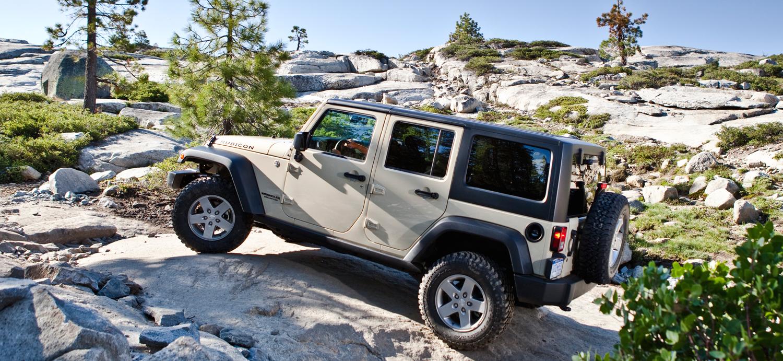 2012 Jeep Wrangler mountain rock crawling