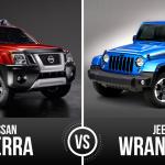 Nissan Xterra vs Jeep Wrangler