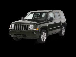 Black 2017 Jeep Patriot