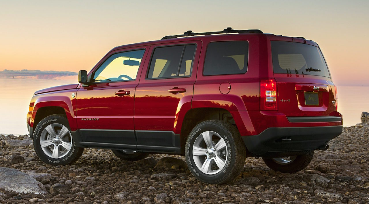 Red 2015 Jeep Patriot