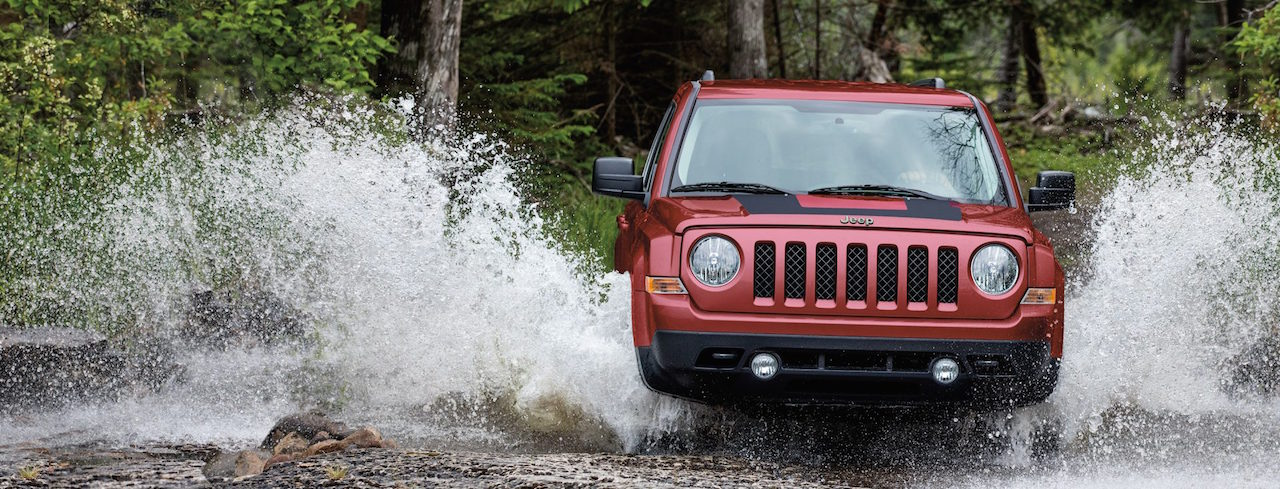 Red 2017 Jeep Patriot