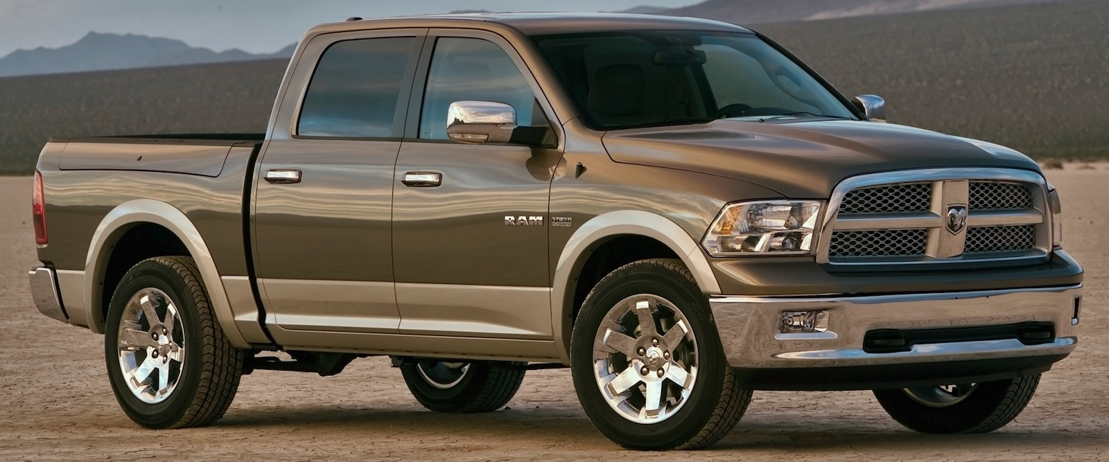 2010 Ram 1500 driving through the desert – Colorado Springs, CO