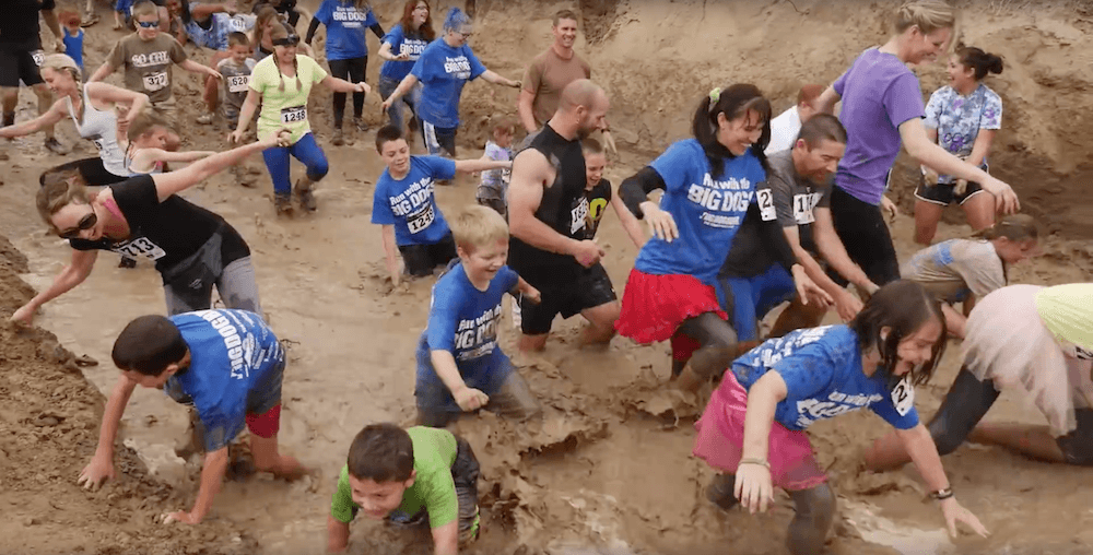 Big Dog Brag 5k Mud Fun Run With Faricy