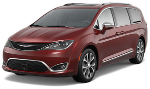Red 2017 Chrysler Pacifica in Colorado Springs, CO.