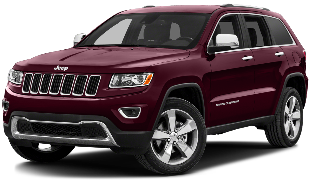 Red 2016 Jeep Grand Cherokee