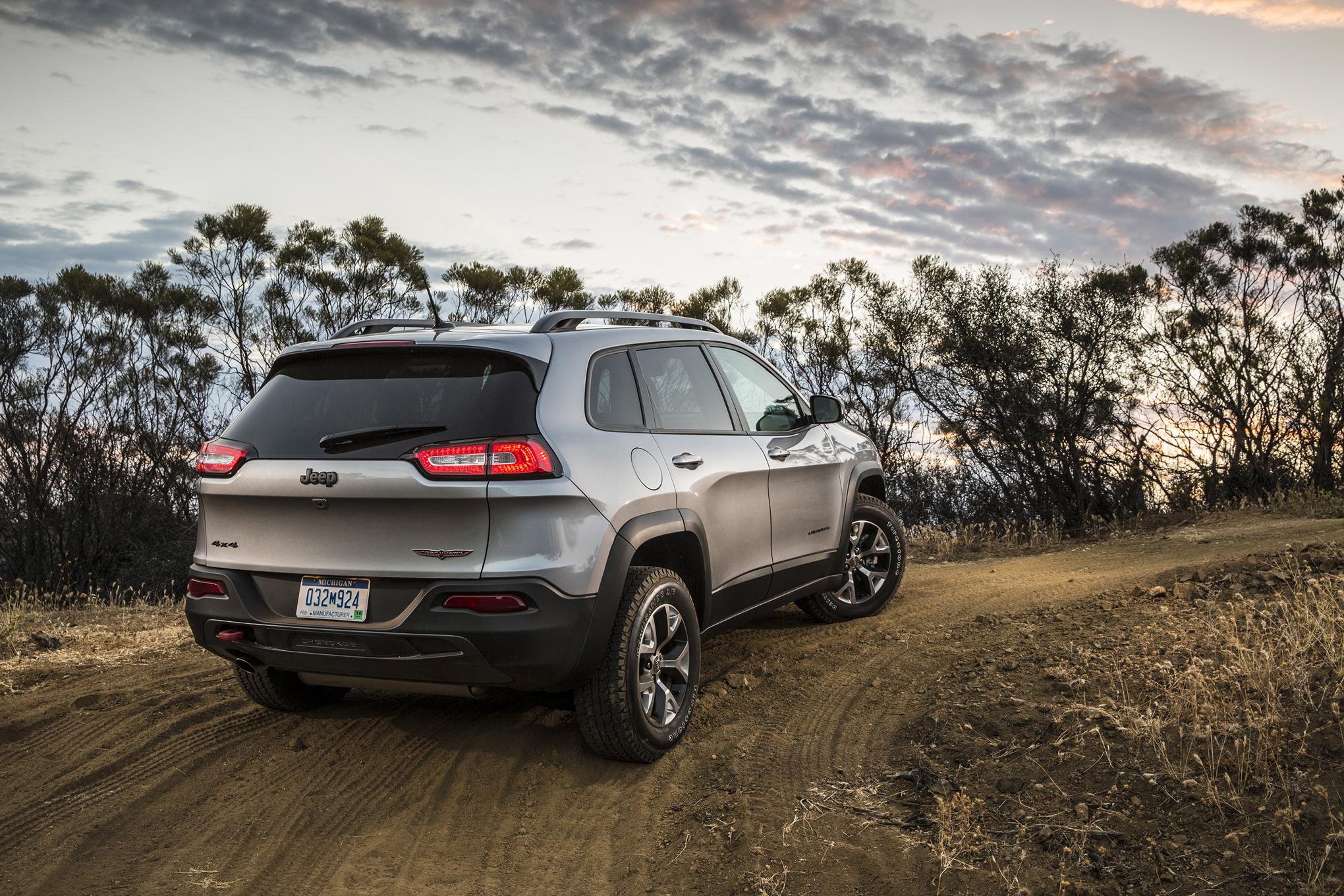 2015 Jeep® Cherokee Trailhawk