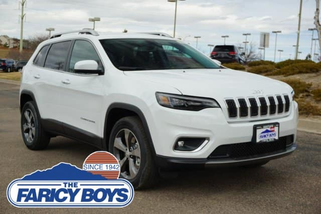 2019 Jeep Cherokee Limited Lease Special