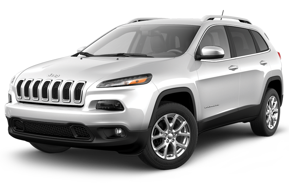 White 2017 Jeep Cherokee