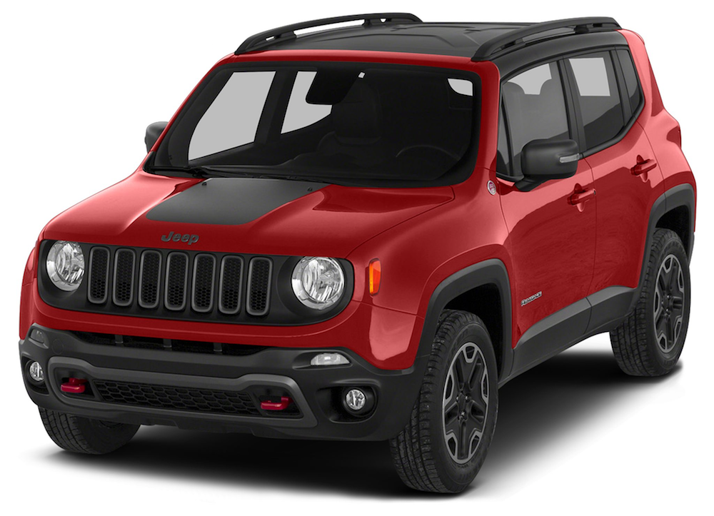 Red New 2017 Jeep Renegade - Colorado Springs, CO.