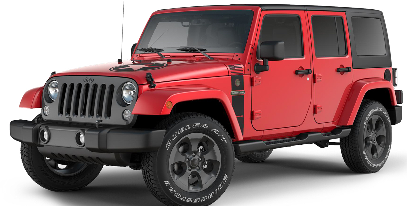 2017 Wrangler Freedom Limited Edition