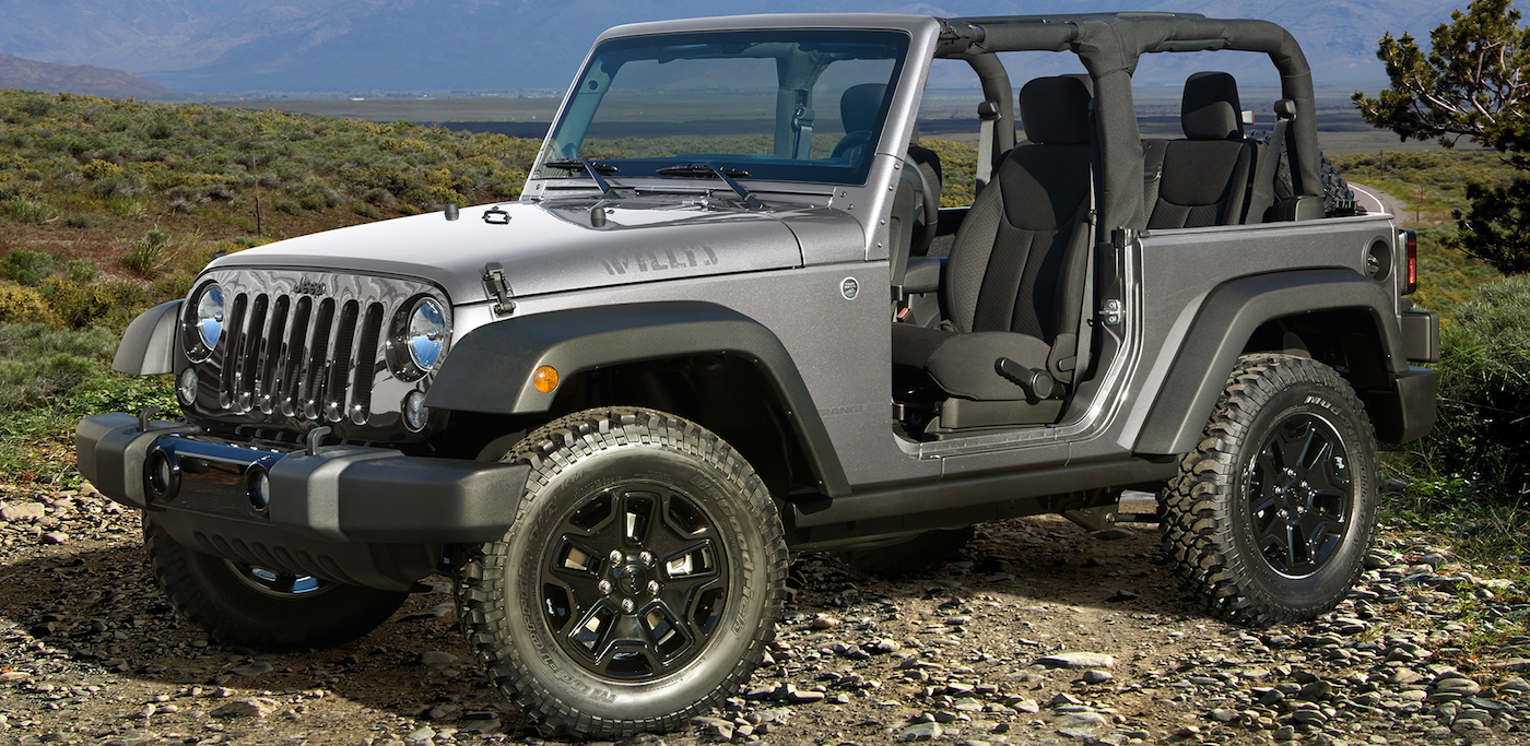 2017 Wrangler Willys Wheeler Limited Edition