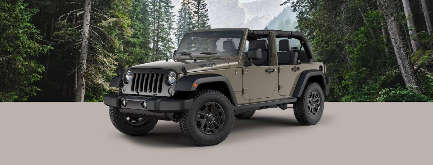 2017 Jeep Wrangler Willys Wheeler W