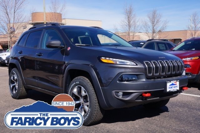 2017 Jeep Cherokee Trailhawk Lease Special