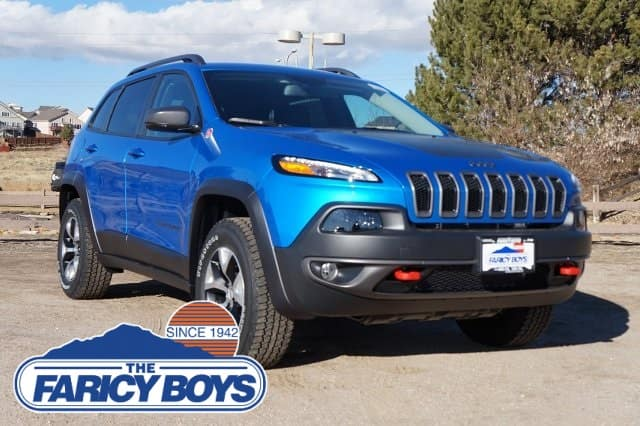 2018 Jeep Cherokee Trailhawk Lease Special