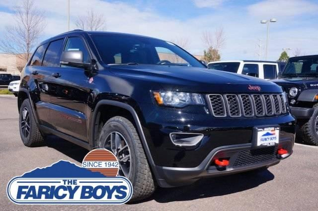 2017 Jeep Grand Cherokee Trailhawk Lease Special