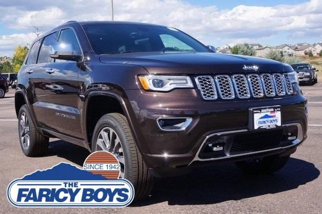 2017 Jeep Grand Cherokee Overland Lease Special