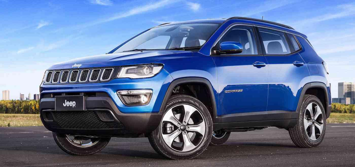 Blue 2017 Jeep Compass in Colorado Springs